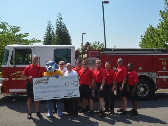 The Hendersonville Fire Department and Nashville Predators
