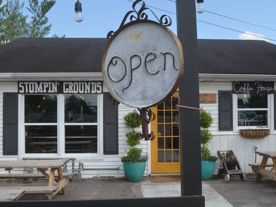 Stompin' Grounds Coffee House is a new coffee stop