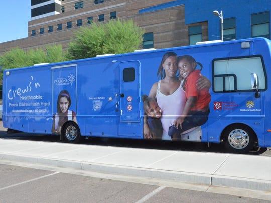 Doctors at Phoenix Children's Hospital treat homeless