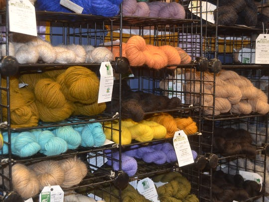 Long Hollow Suri Alpacas and its fiber mill and yarn