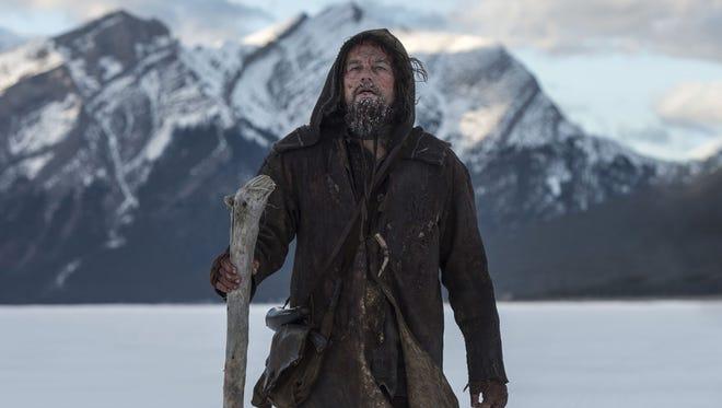 """Leonardo DiCaprio portrays Hugh Glass in """"The Revenant."""""""