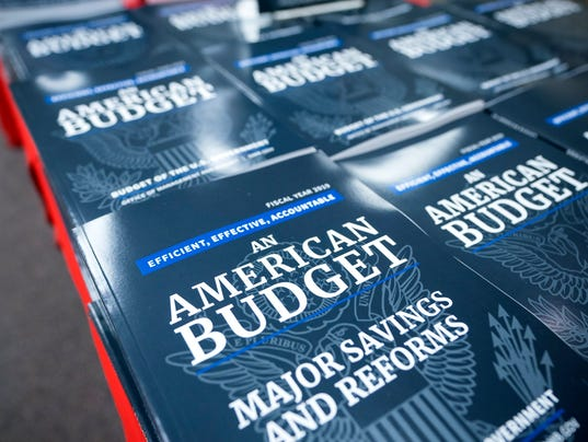 EPA USA TRUMP BUDGET POL GOVERNMENT USA DC