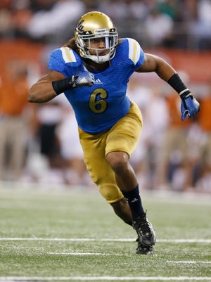 Eric Kendricks out of UCLA is considered one of the top inside linebacker prospects in this year's NFL draft.