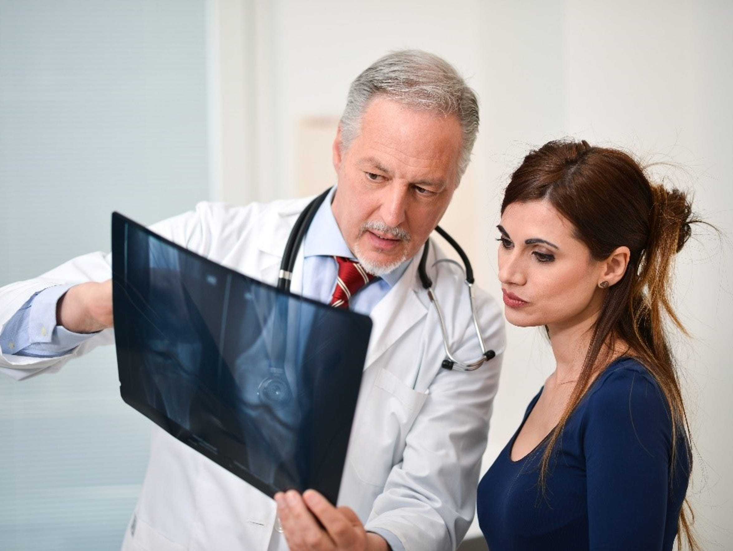 Doctors can review your symptoms and medical history