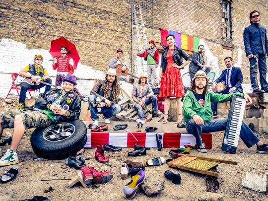 Rhythmic Circus' production Feet Don't Fail Me Now!