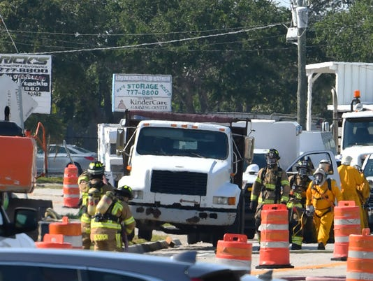 Gas leak in Indian Harbour Beach