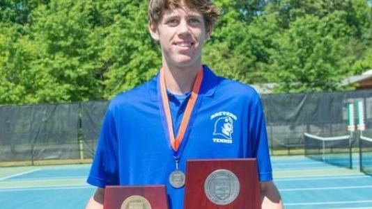 Brevard freshman Joseph Schrader was the Citizen-Times All-WNC Boys Tennis Player of the Year.