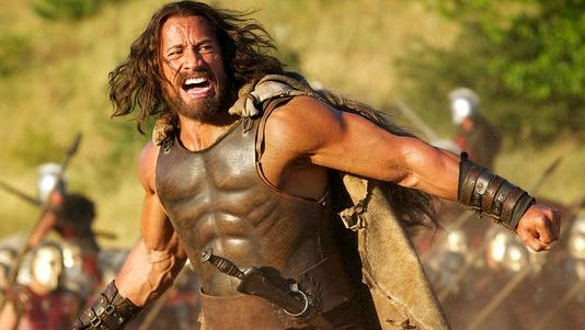 "Dwayne ""The Rock"" Johnson stars as the demi-god in ""Hercules."""