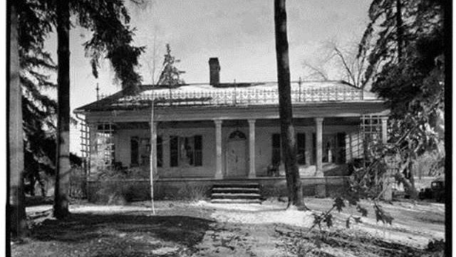 The Vallette House at 1829 Buckland Ave. was built in 1828.