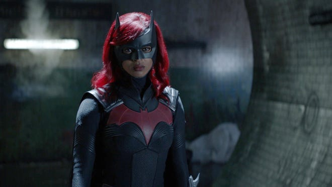 """Javicia Leslie in a scene from """"Batwoman,"""" which returns to the CW at 8 p.m. Sunday."""