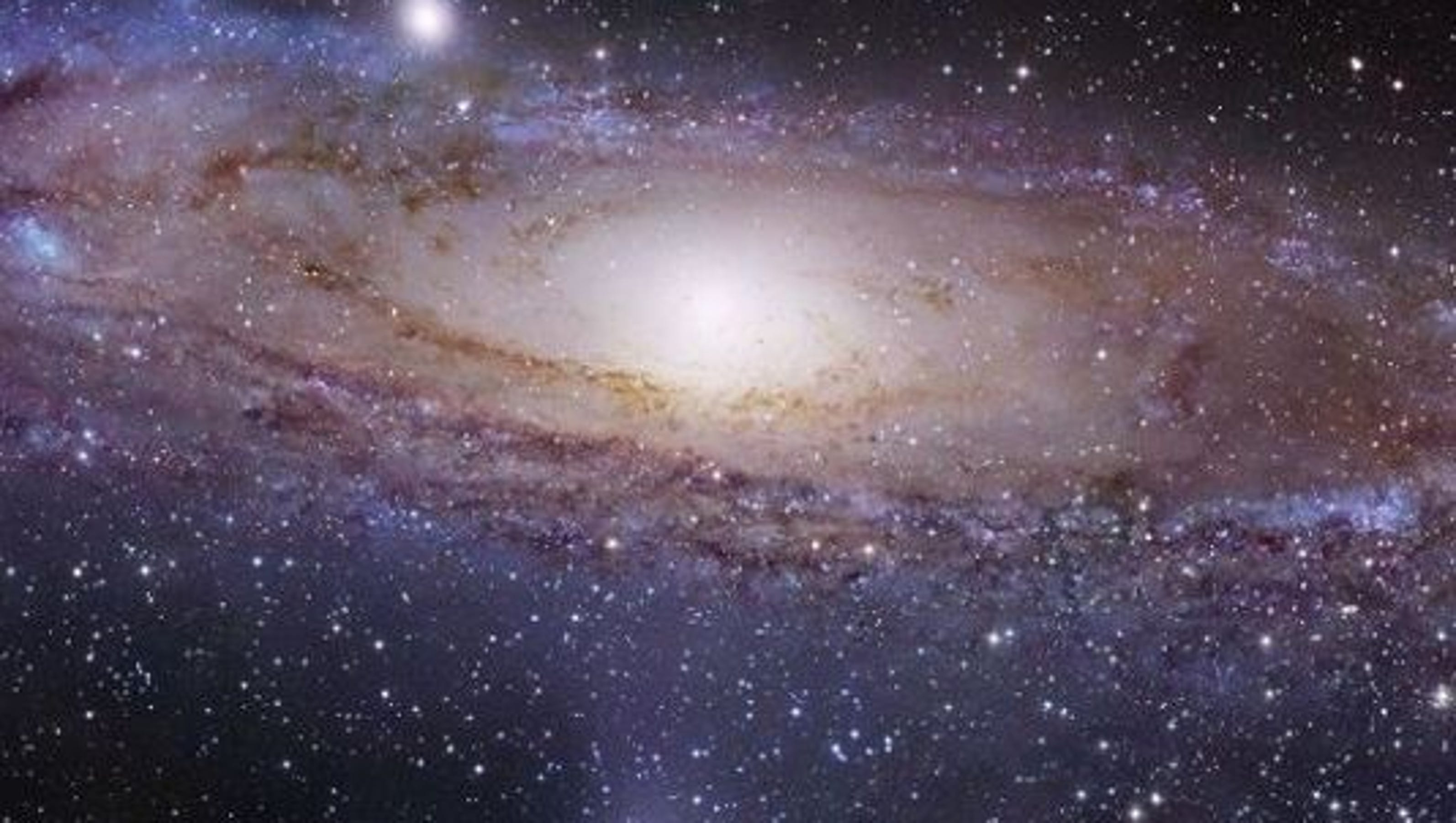 the andromeda galaxy A different astronomy and space science related image is featured each day, along with a brief explanation.