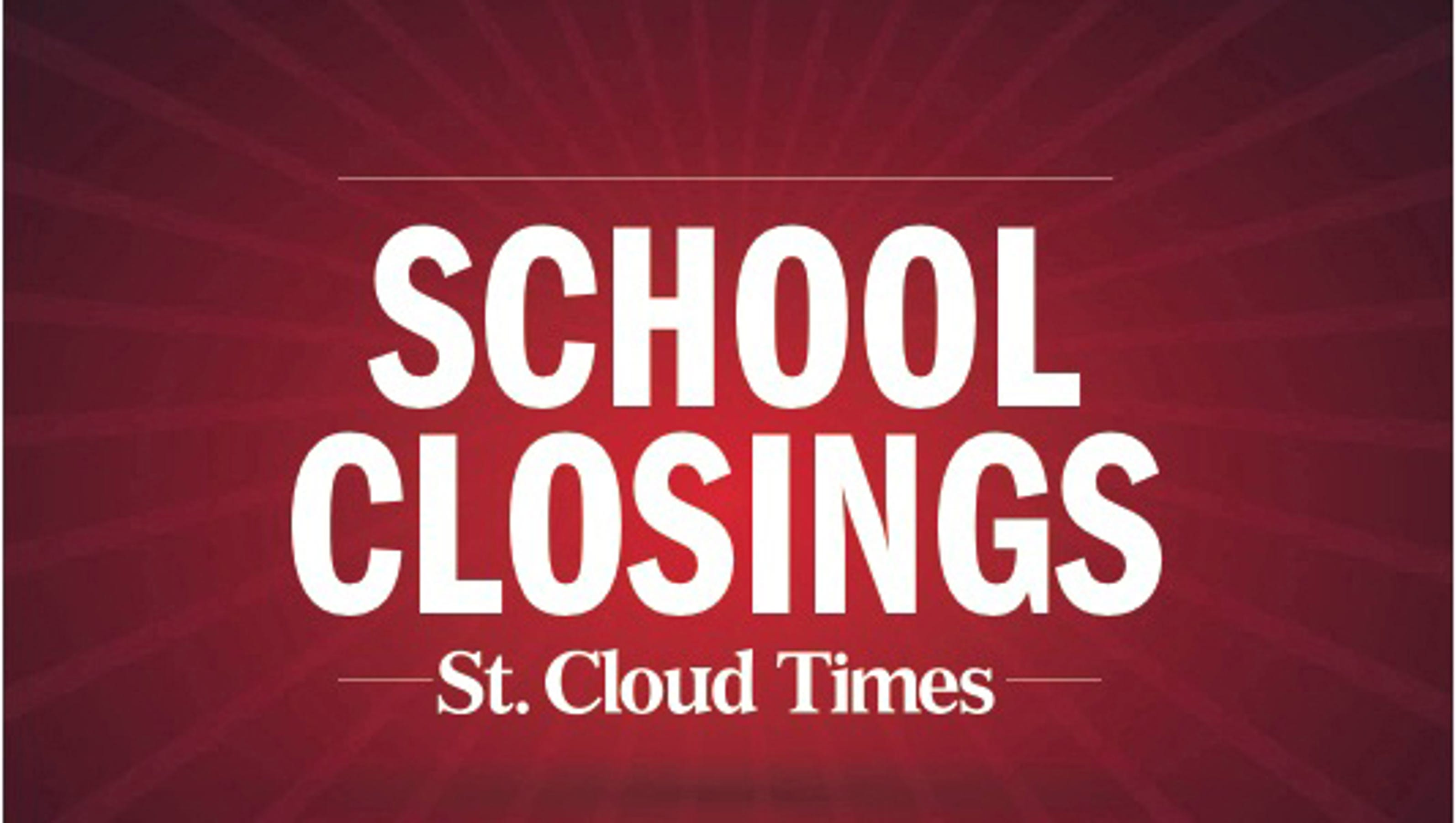 School Cancellation: Monday Weather-related School Closings And Delays