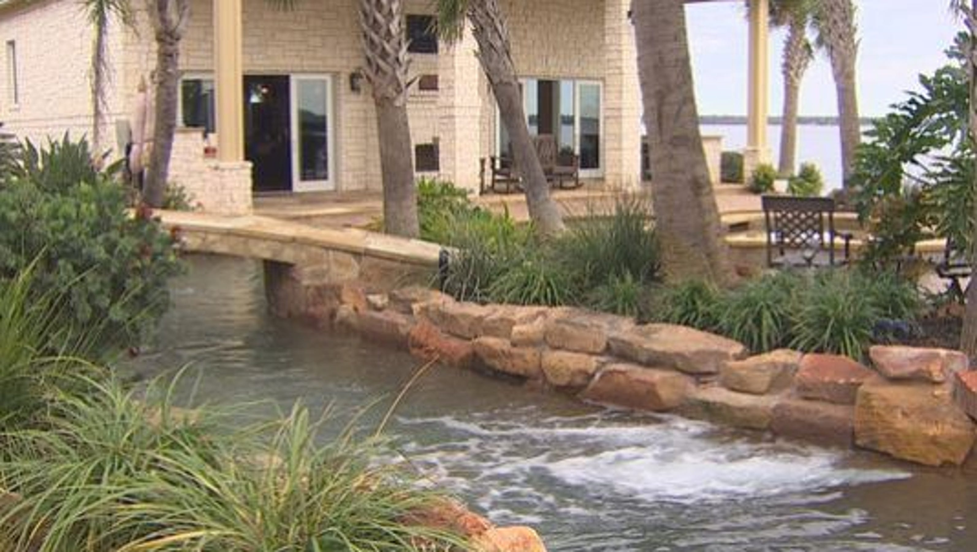 For Sale Lakefront Property With Texas Sized Pool