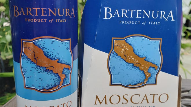 Bartenura Moscato was recently released in cans, 4-packs of 8.5 ounces or about 1.7 glasses of wine based on a five ounce portion.