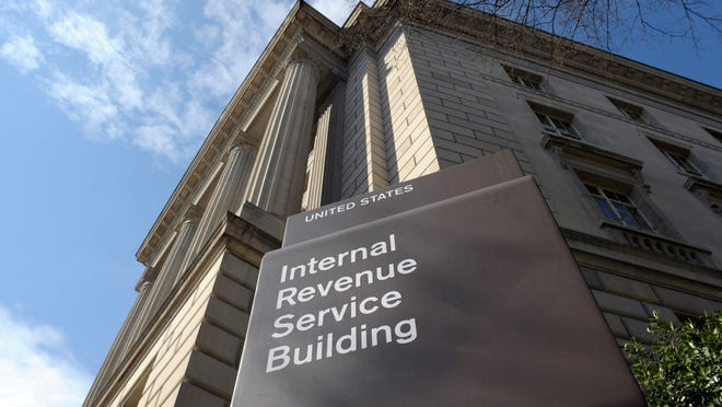 John Fahey of Neptune used his background with the IRS to recognize he was being called by a scammer. This 2013 file photo shows the Washington headquarters of the Internal Revenue Service.