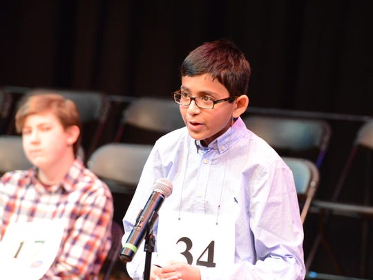 Fifth-grader Christopher Serrao from Readington, attended the Scripps National Spelling Bee in May of 2017.