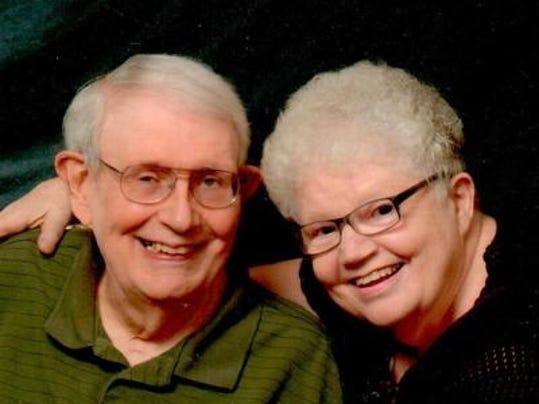 Anniversaries: Dr. Roy Hunteman & Mary Kaye Hunteman