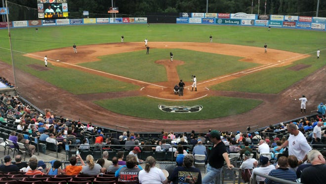 The Hudson Valley Renegades play the Brooklyn Cyclones in July at Dutchess Stadium in Fishkill.