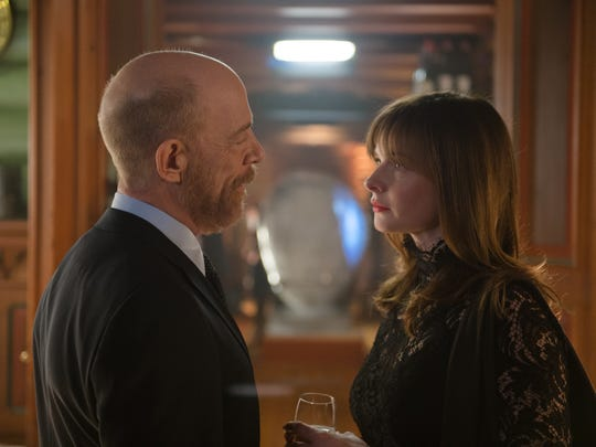 "J.K. Simmons and Rebecca Ferguson star in ""The Snowman."""