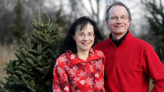 Andy and Tracy Wallace operate a Christmas tree farm north of Francis Creek as a side business. Friends and family have stepped up to help the couple with the Manitowoc County tree farm as Andy has waged a battle against gastric cancer over the past 12 months.