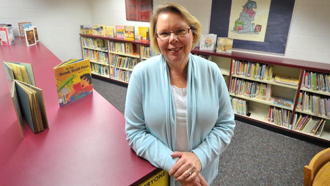 Librarian Sonja Ackerman at Franklin Elementary School in Wausau.