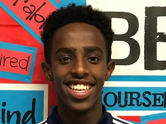 Phoenix North runner Abdihamid Nur is a finalist for