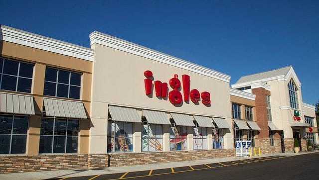 Ingles Markets has acquired a 17.3 acre property at 1001 Patton Ave., the former site of a Kmart store which closed earlier this year.