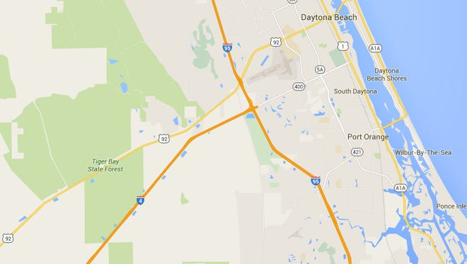 Eastbound traffic along I-4 near Volusia County was at a standstill this morning.