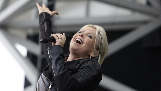 Berlin featuring Terri Nunn performed at the Uline Warehouse during Summerfest in 2014. The band will return to Milwaukee during the Wisconsin State Fair this year.