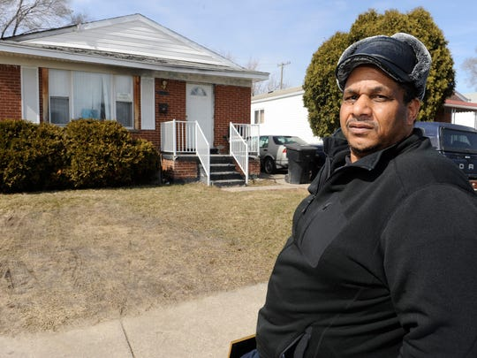 """If I leave this house, people are going to steal everything inside it within 24 hours. Who does that help?"" asks Cornell Squires, 57, whose home is in tax foreclosure."