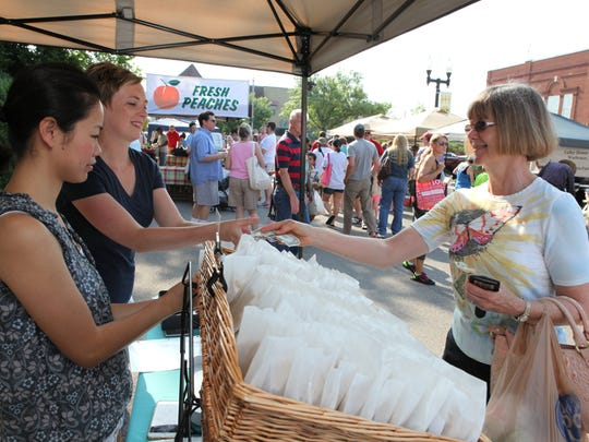 The La Vergne Farmers Market is now open from 3-7 p.m.