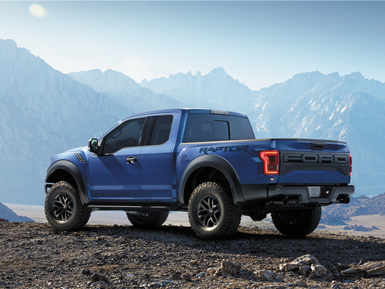 This 2017 Ford Raptor pickup was auctioned for charity