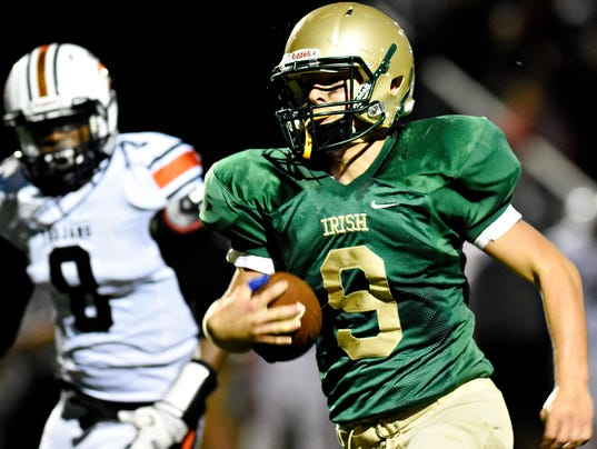 York Catholic vs York Suburban football 09/01/2017