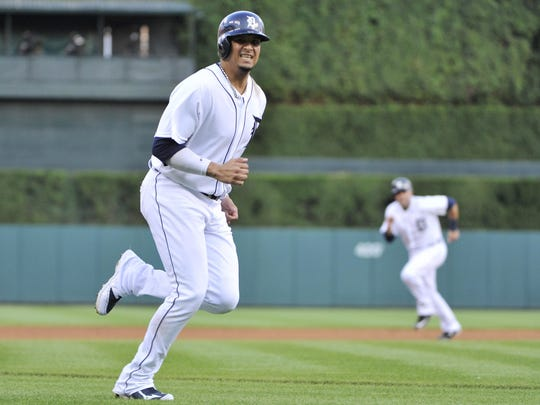After hobbling through 2015 on a surgically repaired left knee, Tigers designated hitter Victor Martinez was able to go through his normal offseason workout regimen.