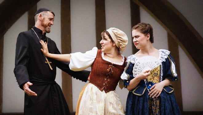"""""""Tartuffe"""": Western Oregon University'sValley Shakespeare Company presents """"Tartuffe,"""" the story of a devious main character who befriends a man, Orgon, and schemes his way into the family with a deceitful plan,8 p.m. July 26-29 and Aug. 2-4,Western Oregon University. Free."""