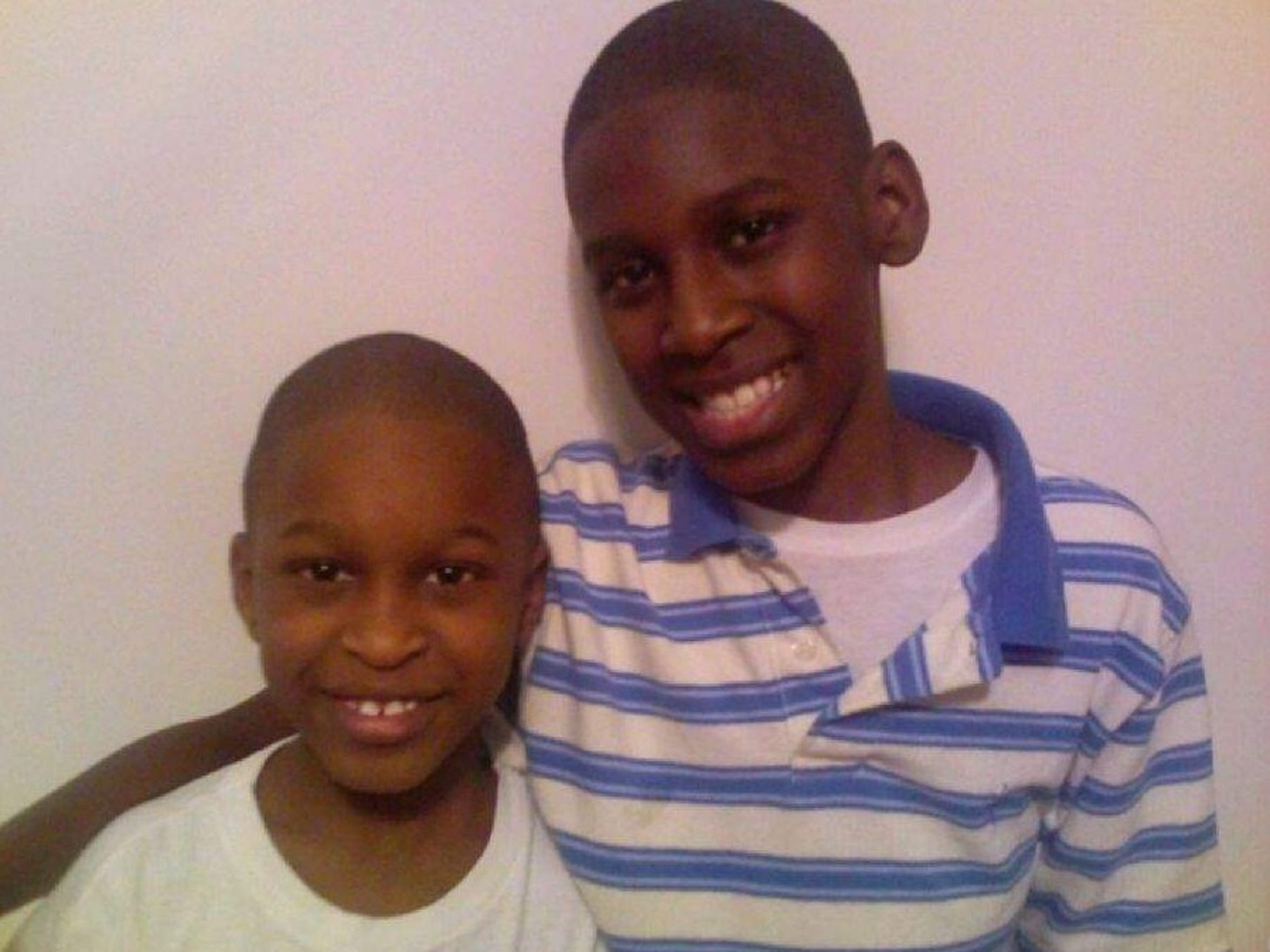 Jahlil and Na-Quan Lewis, shown here in an older photo, were both charged in the Only My Brothers gang indictment, but both they and their mother say they aren't gang members.