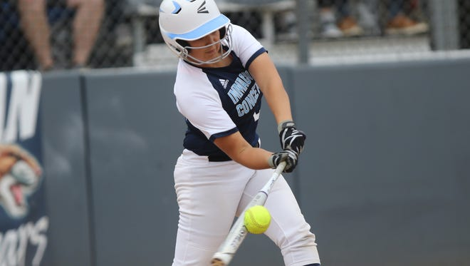 Kayla Robert connects for Immaculate Conception in the Non-Public B state final against Wildwood Catholic Sunday.