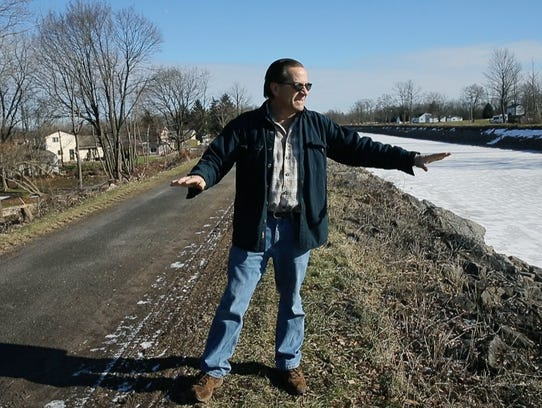 Doug Kucmerowski, 61, a resident at Quarry Street in