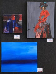 "The St. George Art Guild's ""A Splash of Red"" show just"