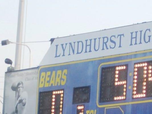 Lyndhurst scoreboard