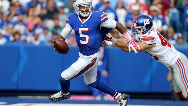 Tyrod Taylor will look to build on a strong 2015 season, his first as an NFL starter.