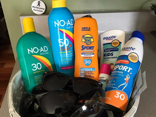 Sunscreen with a sun protection factor (SPF) of 30