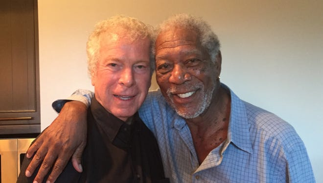 James Davison and Morgan Freeman celebrated their 80th birthdays together at Squire Creek Country Club.