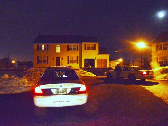 New Castle County police are investigating the suspicious death of a man found inside a home in the Mallard Pointe community Thursday night.