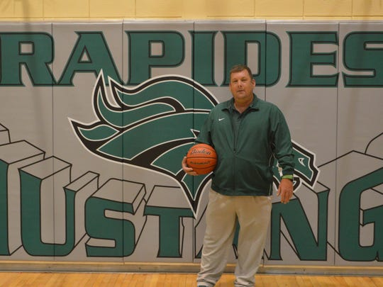 Rapides coach Shane Henderson is the 2017 All-Cenla girls basketball Coach of the Year.