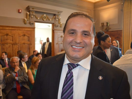 City Council President Mike Khader will have to win passage of a resolution so Yonkers can apply for aid from the state restructuring board.
