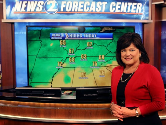 Lisa Patton was chief weather forecaster at WKRN Channel