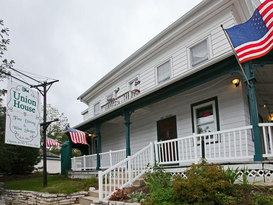 The Union House restaurant in Genesee Depot occupies what was a hotel in the 19th century.
