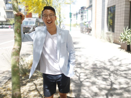 After graduating from Arizona State University, Thomas Kim will take the bar exam to practice law in Oregon.