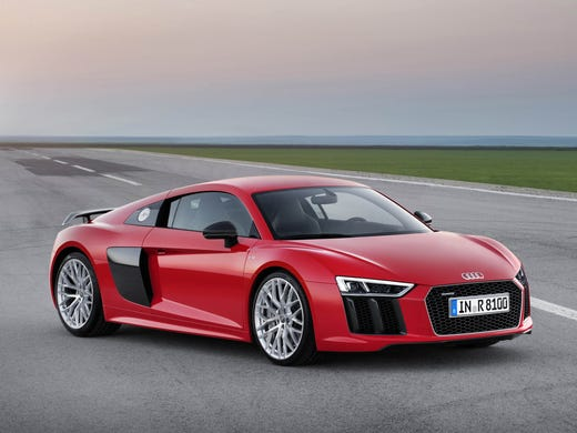 Review Audis New Supercar Can Really Fly At 205 Mph